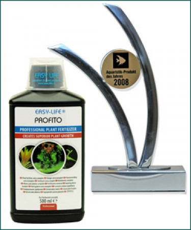 "2008 ProFito professional plant food ""Aquarium product of the year - Germany"""